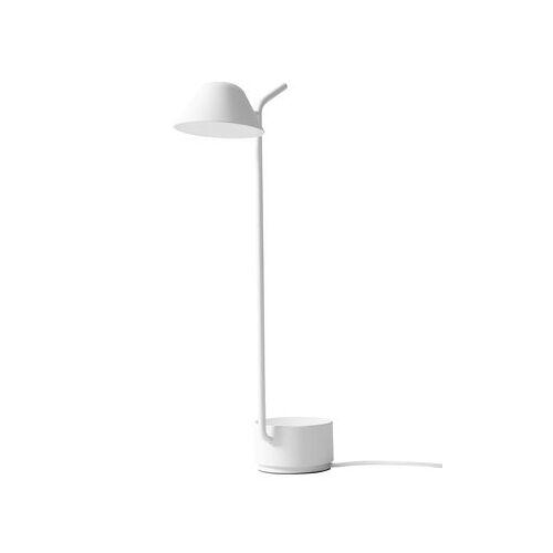 Menu Peek Tischleuchte LED / H 45 cm - Menu - Weiß