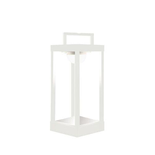 Maiori La Lampe Parc M Solarlampe LED / kabellos - H 40 cm - Maiori - Weiß