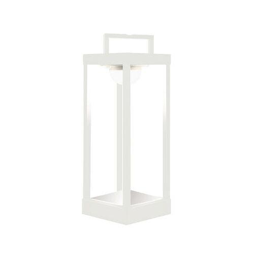 Maiori La Lampe Parc L Solarlampe LED / kabellos - H 50 cm - Maiori - Weiß