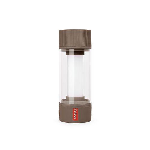 Fatboy Tjoepke LED Lampe ohne Kabel / USB wiederaufladbar - Ø 6 x H 17 cm - Fatboy - Taupe