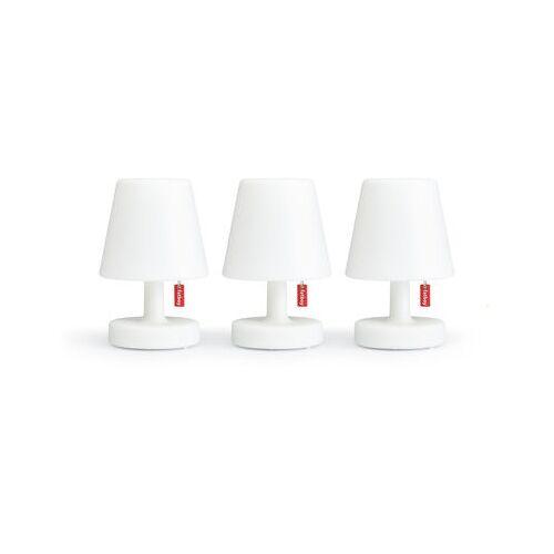 Fatboy Edison the Mini Lampe ohne Kabel / 3er-Set - Ø 9 x H 15 cm - Fatboy - Weiß