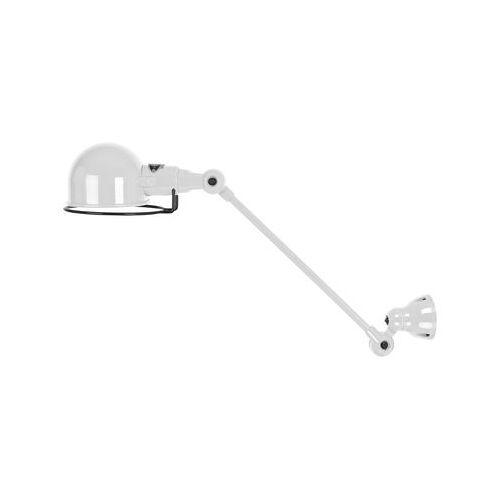 Jieldé Signal Wandleuchte / mit Gelenkarm - L 30 cm - Jieldé - Weiß glänzend
