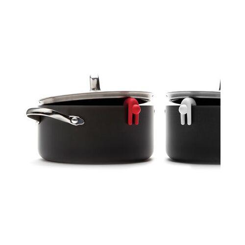 Pa Design Lid sid Topfdeckelhalter / 2er-Set - Pa Design - Weiß,Rot