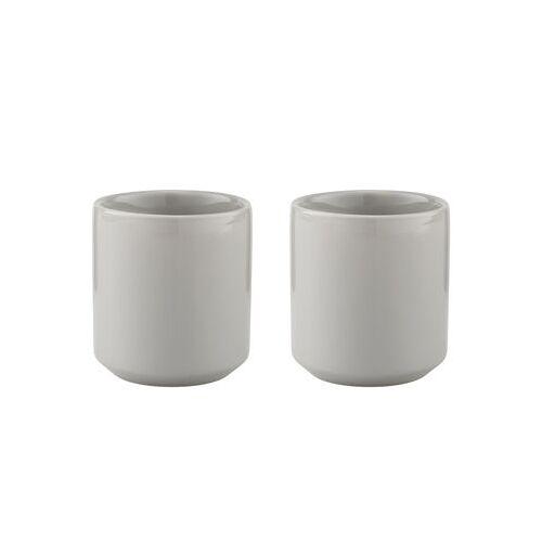 Stelton Core Iso-Tasse / Steinzeug - 2er-Set - Stelton - Hellgrau