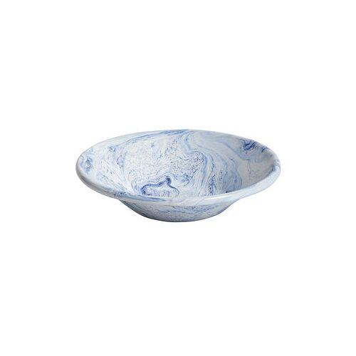 Hay Soft Ice Suppenteller / Ø 17 cm - Stahl, emailliert - Hay - Blau