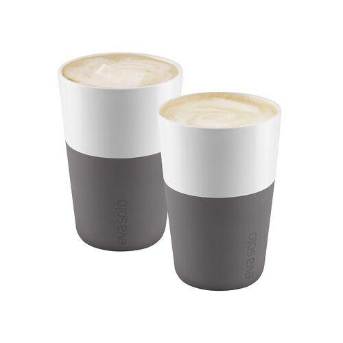 Eva Solo Cafe Latte Becher - Eva Solo - Weiß,Elefantengrau