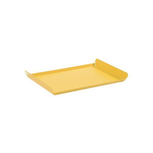Fermob Alto Tablett / Stahl - 36 x H 23 cm - Fermob - Honig
