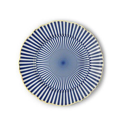 Bitossi Home Arcano Teller / Ø 26,5 cm - Bitossi Home - Weiß,Blau