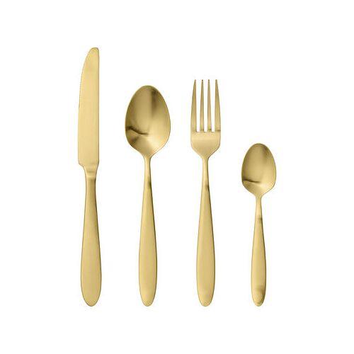 Bloomingville Besteck Set / 4-teilig - Stahl - Bloomingville - Gold