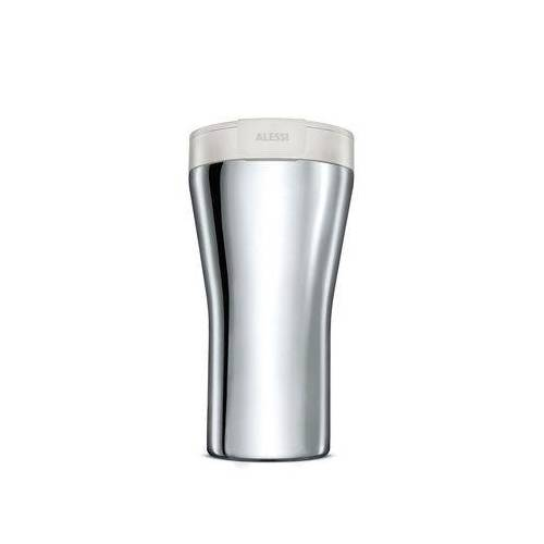 Alessi Caffa Thermobecher / 40 cl - Alessi - Weiß,Stahl