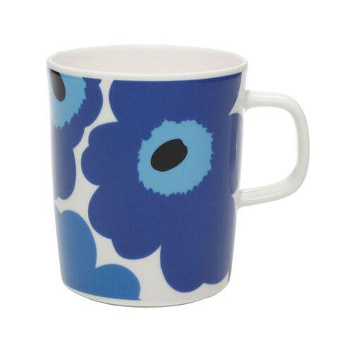 Marimekko Unikko Becher - Marimekko - Weiß,Blau
