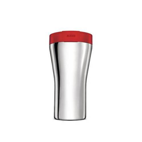 Alessi Caffa Thermobecher / 40 cl - Alessi - Rot,Stahl