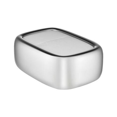 Alessi Bibo Serviettenhalter / L 15 cm x H 6 cm - Alessi - Stahl