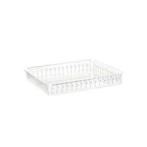 Kartell Piazza Tablett / 48 x 37 cm - Kartell - Kristall transparent