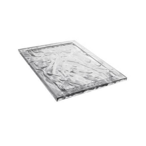 Kartell Dune Small Tablett 46 x 32 cm - Kartell - Kristall