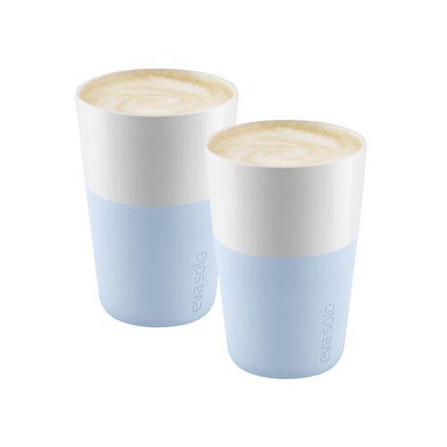 Eva Solo Cafe Latte Becher / 2er-Set - 360 ml - Eva Solo - Soft blue