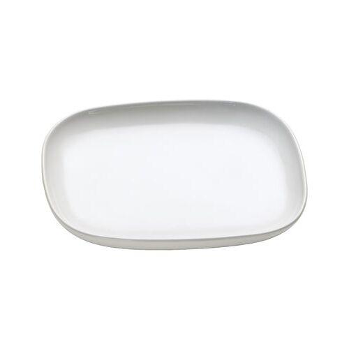 Alessi Ovale Untertasse für Teetasse Ovale - Alessi - Weiß
