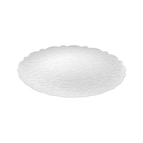 Alessi Dressed Tablett Ø 35 cm / Platzteller - Alessi - Weiß