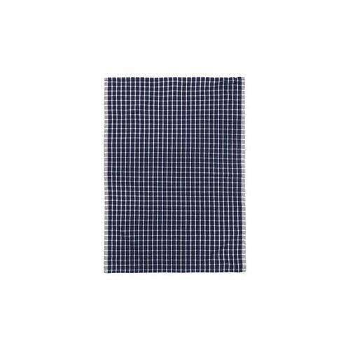 Ferm Living Hale Geschirrtuch / 50 x 70 cm - Ferm Living - Weiß,Grau,Schwarz