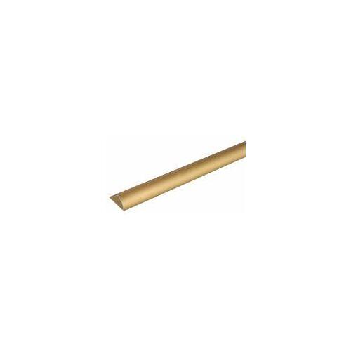 GAH Alberts GAH 2 m Abschlussprofil, Alu, Gold elox B: 24,5 H: 13,5 mm  Abschlussleiste Fußboden