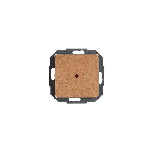 Heinrich Kopp GmbH Kopp Kontrollschalter Milano, Buche, IP20, Schalterprogramm aus Holz, Schalter, Taster
