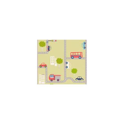 AS Creation Tapete Kinderzimmer  Grün Bunt Kinderzimmer  Autos