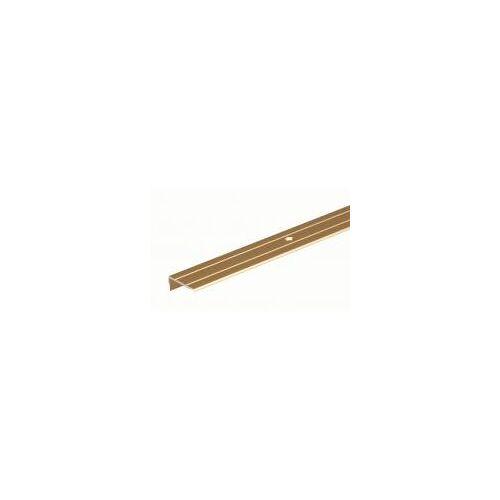 GAH Alberts GAH 2 m Treppenkanten-Schutzprofil Alu, Gold B: 24,5 H: 10 mm Stärke: 1,5 mm  Treppen-Schutz