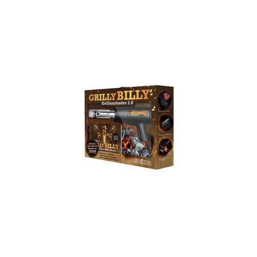 Steinel Grill Set Grilly Billy, Heißluftföhn + Grilldüse + Fire & Food Grillbuch, 1400 W, 2-stufig