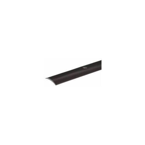 GAH Alberts GAH 90 cm Übergangsprofil PVC, Schwarz, B: 30 mm  0,9 m  Fußboden-Übergang