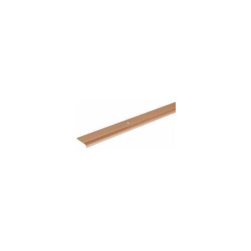 GAH Alberts GAH 2 m Treppenkanten-Schutzprofil Alu, Bronze B: 24,5 H: 10 mm Stärke: 1,5 mm  Treppen-Schutz