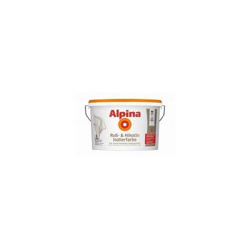 Alpina Farben 1x Alpina Ruß- und Nikotin Isolierfarbe 5 L
