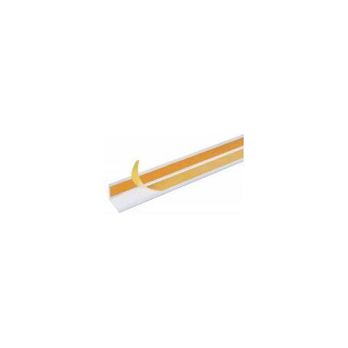 GAH Alberts GAH 2,6 m Winkelprofil 15 x 15 x 1 mm Weiß Kunststoff, Profil-Ecke
