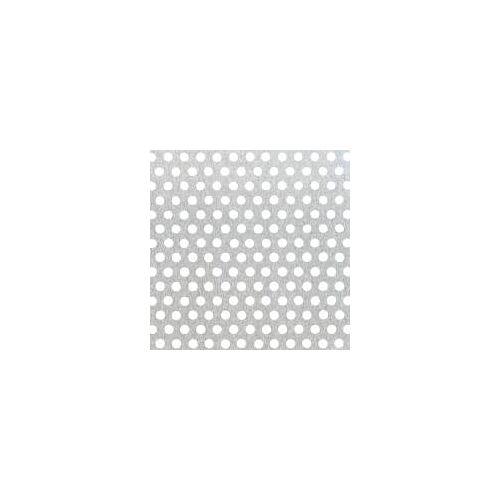 GAH Alberts GAH Lochblech 250 x 500 x 1,5 mm Natur Alu, rund