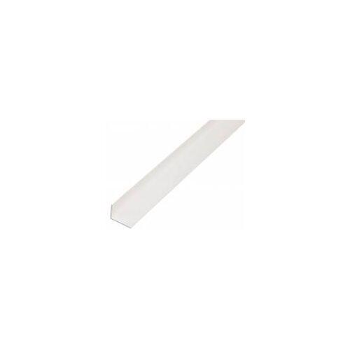 GAH Alberts GAH 2,6 m Winkelprofil 20 x 10 x 1,5 mm Weiß Kunststoff, Profil-Ecke
