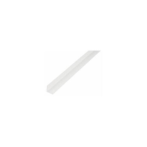 GAH Alberts GAH 1 m Winkelprofil 15 x 15 x 1,2 mm Weiß Kunststoff, Profil-Ecke