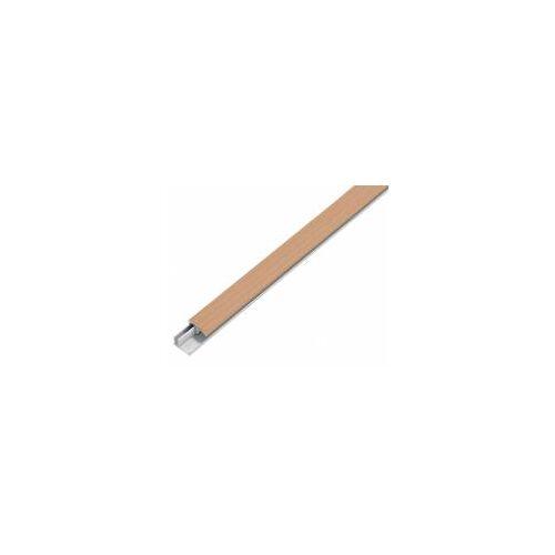 GAH Alberts GAH 1 m Abschlussprofil Duo, Alu, Buche hell, B: 22 mm  Fußboden-Abschlussleiste Holz-Optik