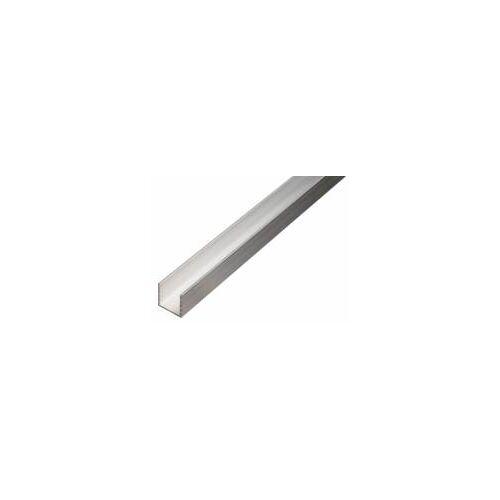 GAH Alberts GAH 2,6 m BAProfil U-Form 20 x 20 x 20 x1,5 mm Alunatur