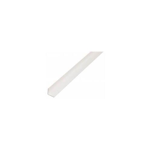 GAH Alberts GAH 2,6 m Winkelprofil 50 x 50 x 1,5 mm Weiß Kunststoff, Profil-Ecke