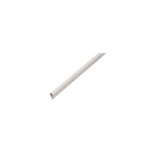 GAH Alberts GAH 2 m Klemmprofil 15 x 0,9 mm Weiß Kunststoff