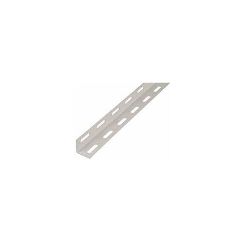 GAH Alberts GAH 1 m Winkelprofil 27 x 27 x 1,5 mm Weiß Stahl