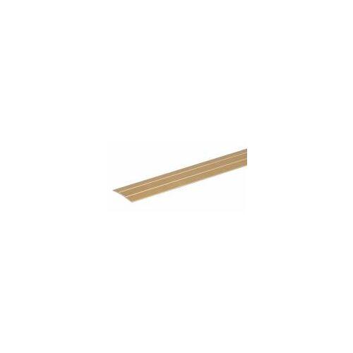GAH Alberts GAH 90 cm klebendes Übergangsprofil, Alu, Gold B: 38 mm  0,9 m klebender Fußboden-Übergang