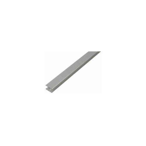 GAH Alberts GAH 1 m H-Profil zum Klemmen 7,9 x 20 x 1,5 mm Silber Alu, klemmend
