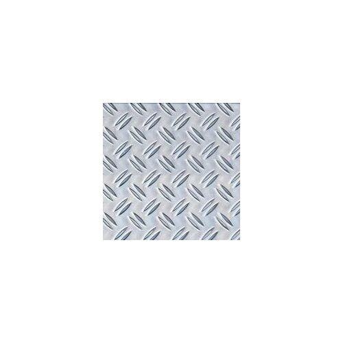 GAH Alberts GAH Alu-Strukturblech Riffel 250 x 500 x 1,5 mm Alu