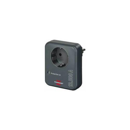 Hugo Brennenstuhl GmbH & Co. Brennenstuhl Steckdosenadapter mit Überspannungsschutz 13.500 A, Blitzschutz für Elektrogeräte