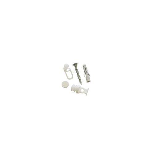 Gardinia Vorhangschienen Zubehör-Set Weiß