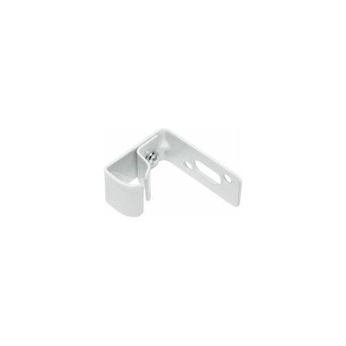 Gardinia 2 x Wandträger für U-Laufschienen, Weiß