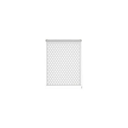 Gardinia EASYFIX Doppelrollo Cut-Out, Lichteffekte, Kleben oder Klemmen, Klemmträger verstellbar