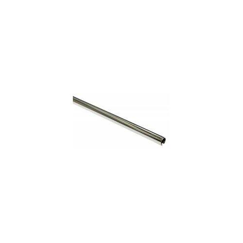 Gardinia Chicago Metallstange mit Innenlauf in chrom, 120 cm, Ø 20 mm