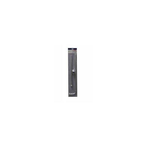 Gardinia Schwenkstange Ø 12 mm, Metall, ausziehbar 55-85 cm, edelstahl-optik