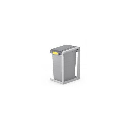 Hailo ProfiLine Öko XL Erweiterungseinheit  Mülltrennsystem  Grau, 38 l